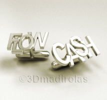 customized cufflinks  CASH FLOW